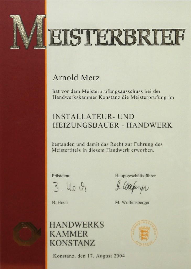 040817 Merz Meisterurkunde